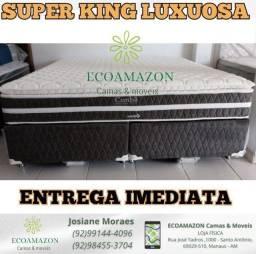 "CAMA SUPER KING. /*/""MOLAS ENSACADAS LUXUOSA"