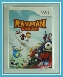 Rayman Origins Wii Completo Original Semi-novo