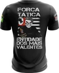 Camiseta Camisa Força Tatica Pmsp -ftn (uso Liberado)