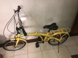 Título do anúncio: Vendo bicicleta dobrável