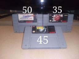 Jogos de Super Nintendo(À partir de R$30).