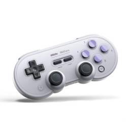 Controle joystick sem fio 8Bitdo SN30 Pro (Lacrado) + Suporte Celular