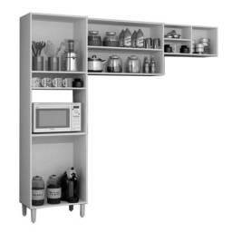 Cozinha Compacta 3 Peças Com Nicho Granada FFR43