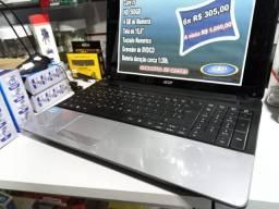 Título do anúncio: N otebook Acer   Core i5 - 500GB HD  4GB   Tela 15,6    Formatado C/Garantia