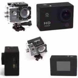 Câmera Esportiva Go Pro Full HD 1080P a prova d'água ?? (Frete gratis/RJ)