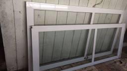 Porta de alumínio vidro de abrir