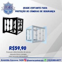Título do anúncio: Grade cortante para proteção de Câmeras de Segurança