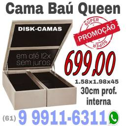 Cama box baú QUEEN ---1.58x1.98 $ 699,00 ++