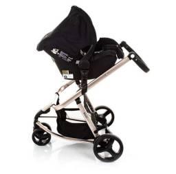 Carrinho de Bebê Safety 1st - Edição Especial - Black Rosé.