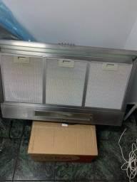 Título do anúncio: Depurador 80cm de Parede Inox (DE80X) + Electrolux (Usado)