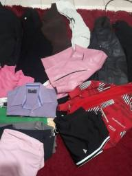 Título do anúncio: Lote roupas variadas 90 peças