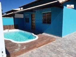 Th: Casa de 2 quartos com piscina e área gourmet à venda em Unamar-Cabo Frio!!