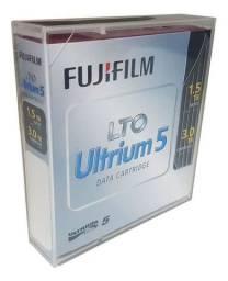 Título do anúncio: Fita de Dados LTO 3TB Ultrium 5 Fujifilm ou HP - NOVO - Loja Física