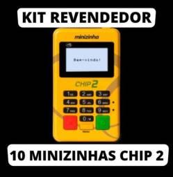 Título do anúncio: 10 unidades em atacado, minizinha chip2