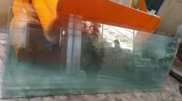 Vidros e porta de vidro