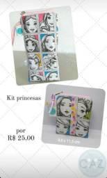 Kit de nécessaire princesas