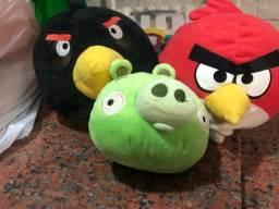 Angry birds pelúcias.