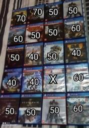 Título do anúncio: Diversos jogos mídia física de PS4