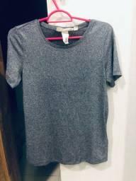 Camisa brilhosa da loja H&M de Madri!