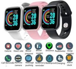 Título do anúncio: [NOVO] Relógio Inteligente Smartwatch D20 / Entrega Grátis JP