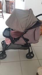 Carrinho de Bebê - 2 em 1 San Remo Galzerano