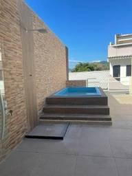 Título do anúncio: taquara alugo casa duplex condominio 2 suties com terraço com lazer total