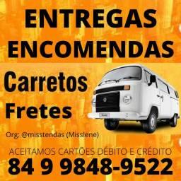Fretes Entregas Encomendas Carreto