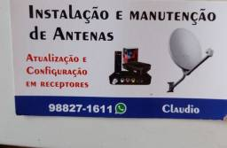 Título do anúncio: Instalador antenas Betim Contagem região