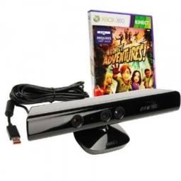 Sensor Kinect com jogo original, dou garantia