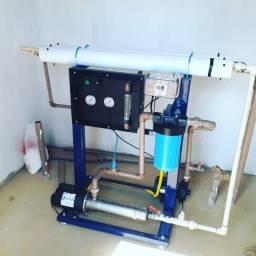 Dessalinizador 1000 litros de água tratada por hora