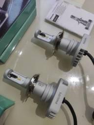 Título do anúncio: Lâmpada LED Phillips h4 ultinon + 160%