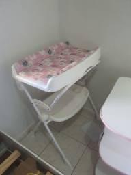 Berço armário e banheira