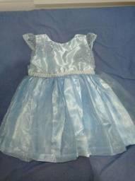 Título do anúncio: Vestido azul SEMINOVO em perfeito estado