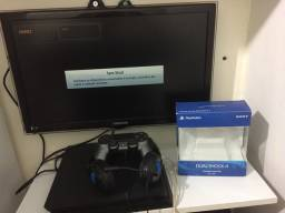 Ps4 slim 500gb mais monitor samsung