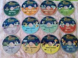 Livros didáticos em Dvds