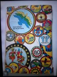 Album de figurinhas CHAPINHAS DE OURO anos 70 completo