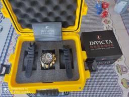 Relógio Invicta Reserve Venom 24257 + maleta invicta para 3 relógios