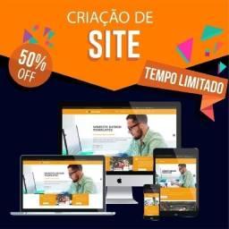 Título do anúncio: Site - Por apenas 297,00 R$ (Construção) + Domínio incluso