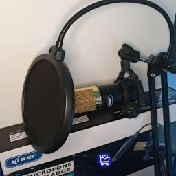*Microfone condensador knup*
