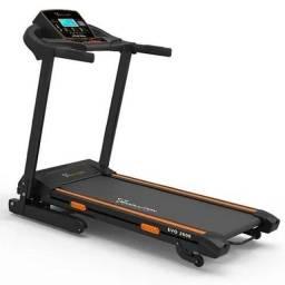 Esteira Ergométrica Evo 2600 Praticar Fitness - 16 km/h - Inclinação eletrônica