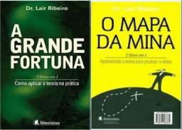 Livro 2em1: A Grande Fortuna e O Mapa da Mina do Dr. Lair Ribeiro