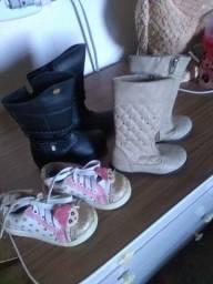 Lote bota infantil (menina)