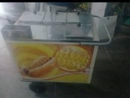 carrinho de hot-dog