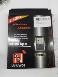 Adaptador wireless Usb Nano 2.4