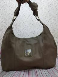 Bolsa de couro usada Couro & Cia