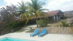 Casa/chácara com Piscina em Gravata. Reserve local seguro e agradável