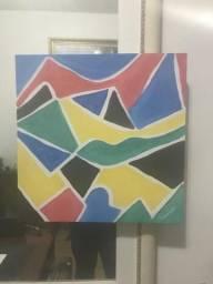 Usado, Quadro Decorativo Abstrato lindo comprar usado  Rio de Janeiro