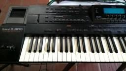Arranjador c/ritmos Brasil no pendrive Roland G800( *