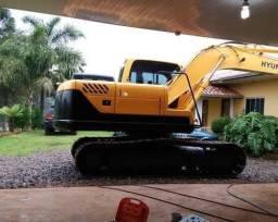 Escavadeira - R140 Hyundai