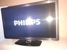Tv LCD Philips 40 modelo 40PFL8605D Não é Smart